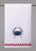 Blue Crab Hand Towel