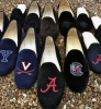 Collegiate Velvet Shoes