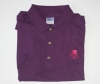 Fine Swine Purple Polo