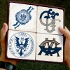 Georgetown University Stone Coaster Sets